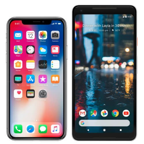 iPhone X vs. Pixel 2 XL; Which Should You Choose?