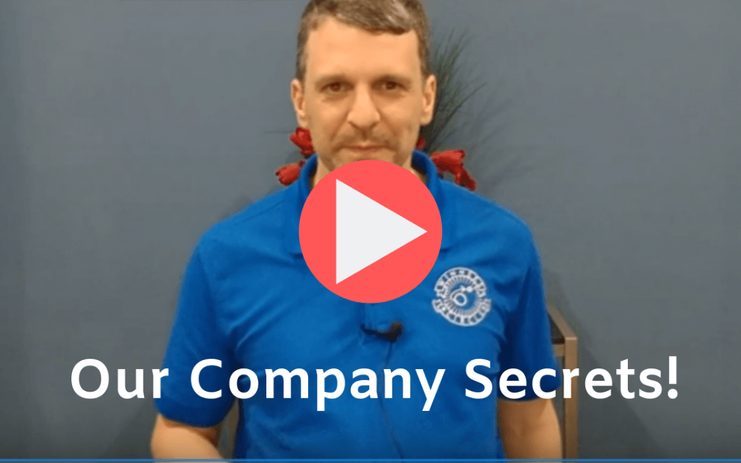 Shhh…Our Company Secret