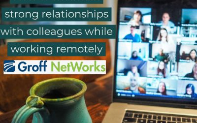 How to maintain strong relationships with colleagues while working remotely